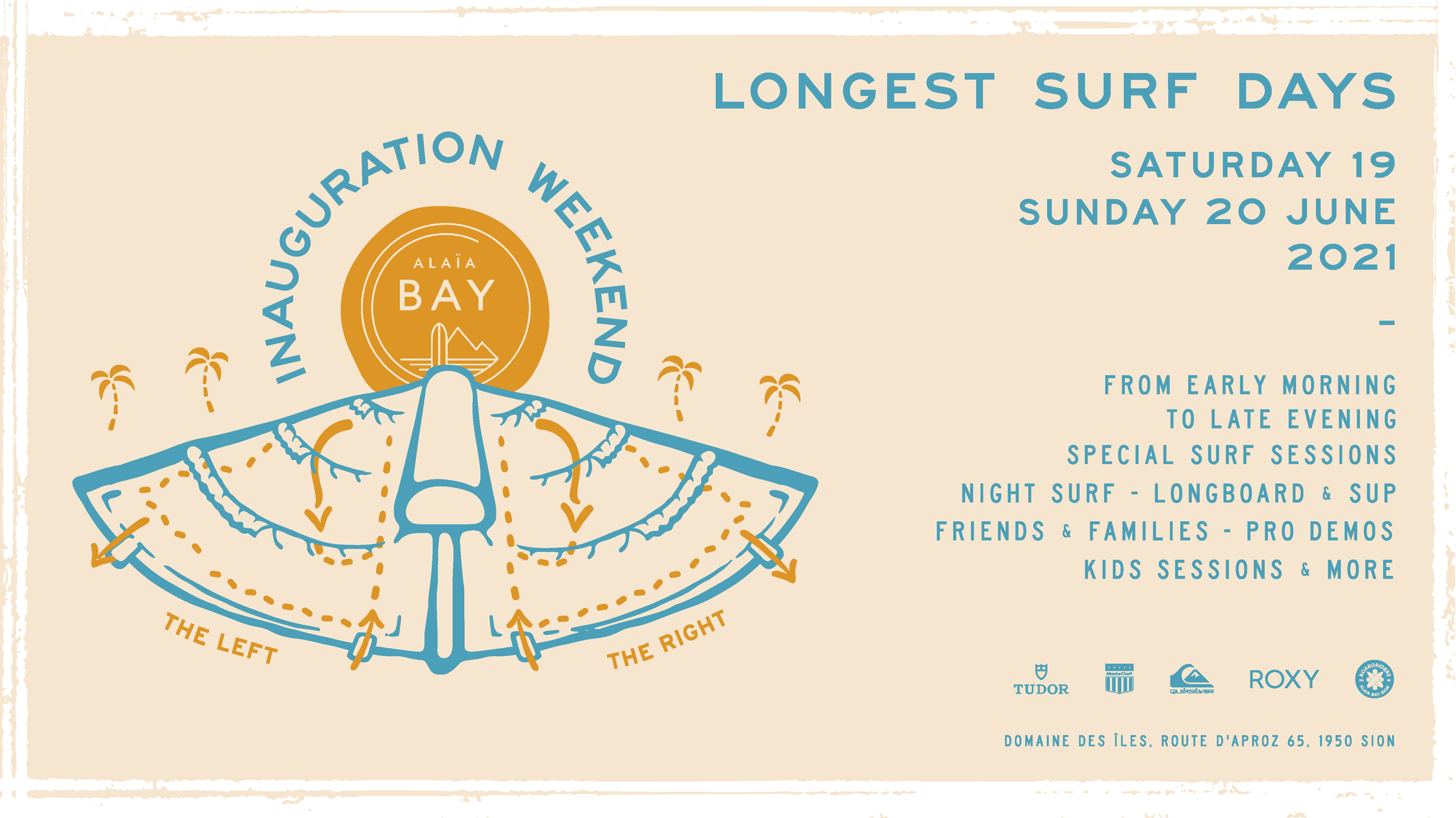 Longest surfing day alaia bay inauguration